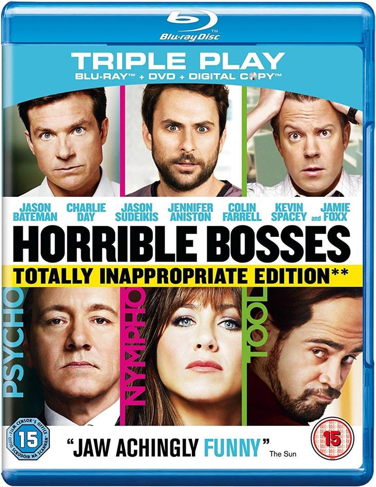 Horrible Bosses 2011 Extended Cut Blu Ray Dvd Cede Com