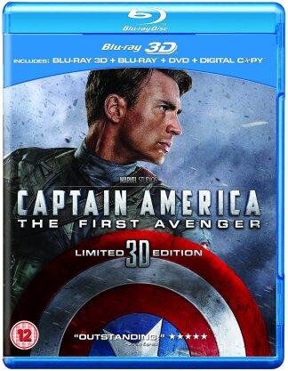 Captain America - The First Avenger (Blu-ray 3D + 2D + DVD) (2011)