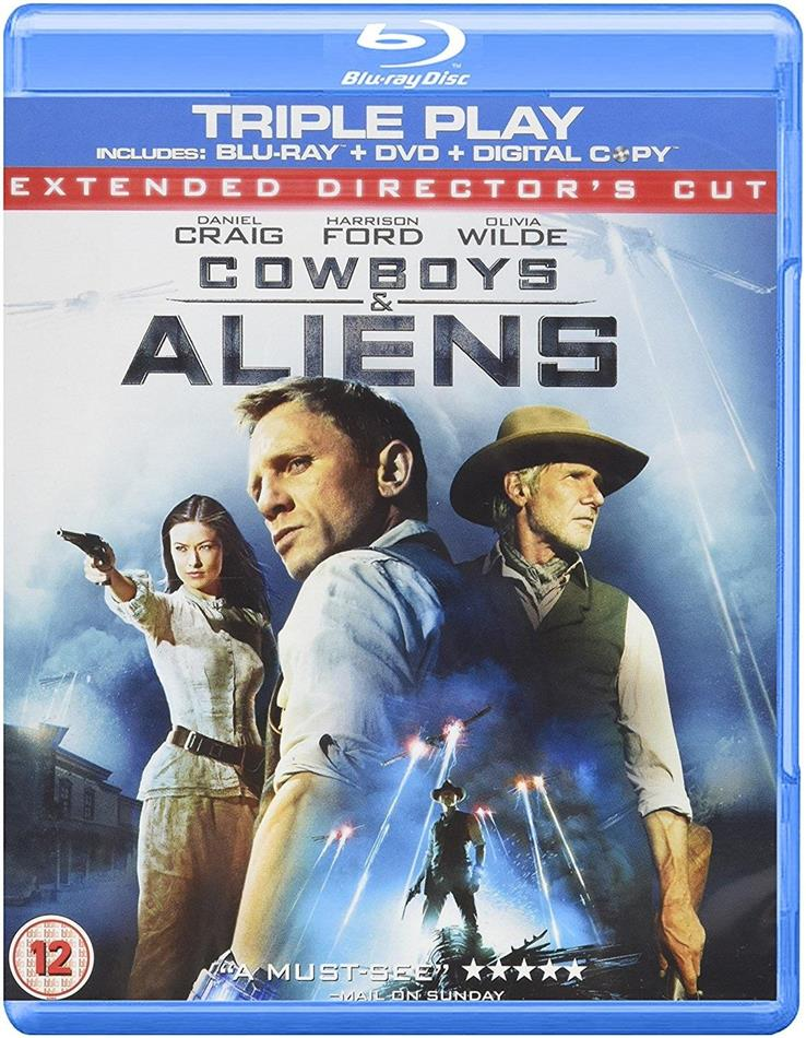 Cowboys & Aliens (2011) (Blu-ray + DVD)