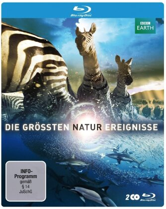 Die grössten Naturereignisse - BBC Earth (Limited Edition, Steelbook, 2 Blu-rays)