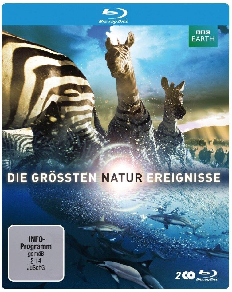 Die grössten Naturereignisse - BBC Earth (Limited Edition, Steelbook, 2 Blu-rays)