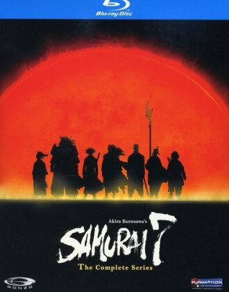 Samurai 7 - The Complete Series (Cofanetto, Uncut, 3 Blu-ray)