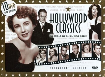 Hollywood Classics - The Golden Age of the Silver Screen (Deluxe Edition, 10 DVD)