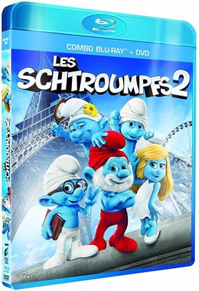 Les Schtroumpfs 2 (2013) (Blu-ray + DVD)
