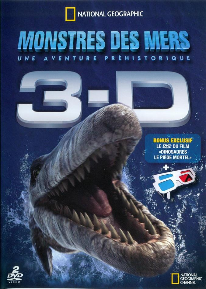 Monstres des mers - 3-D (National Geographic, 2 DVD)