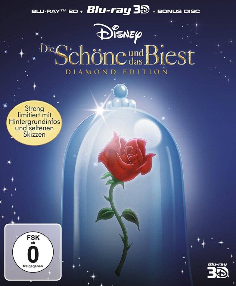 Die Schöne und das Biest (1991) (Diamond Edition, Blu-ray 3D + 2 Blu-rays)