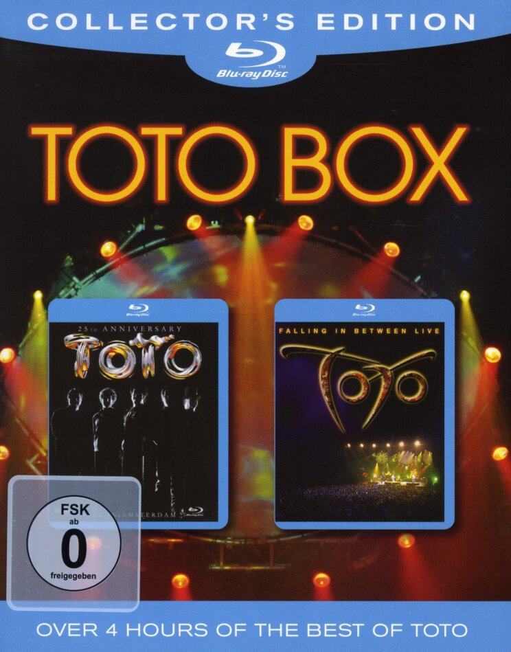 Toto - Box (Collector's Edition, 2 Blu-rays)