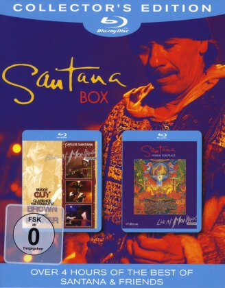 Santana - Box (Collector's Edition, 2 Blu-rays)