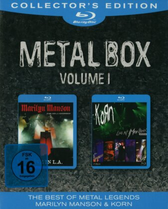 Manson Marilyn / Korn - Metal Box - Vol. 1 (Collector's Edition, 2 Blu-rays)