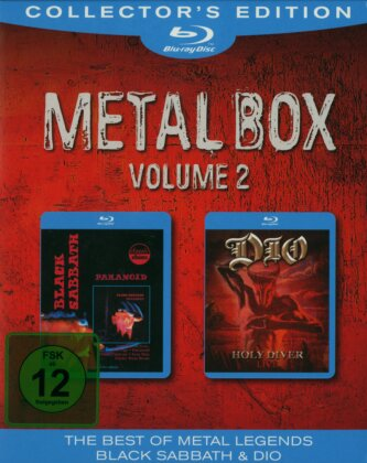 Dio & Black Sabbath - Metal Box - Vol. 2 (Collector's Edition, 2 Blu-rays)