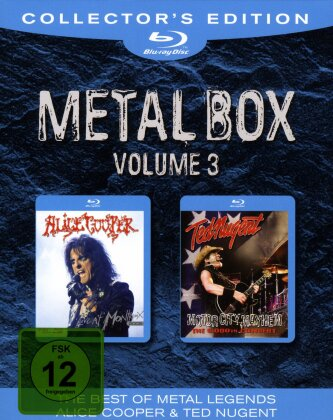 Alice Cooper & Ted Nugent - Metal Box - Vol. 3 (Collector's Edition, 2 Blu-rays)