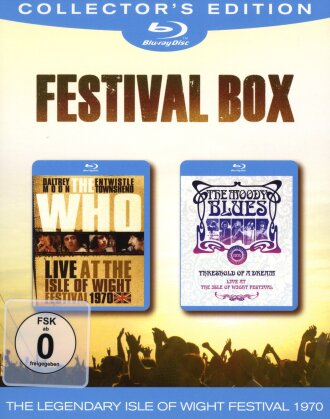 The Who & The Moody Blues - Festival Box (Collector's Edition, 2 Blu-ray)