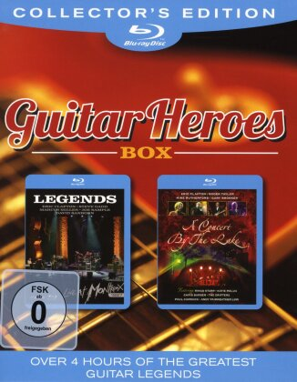 Various Artists - Guitar Heroes Box (Collector's Edition, 2 Blu-ray)