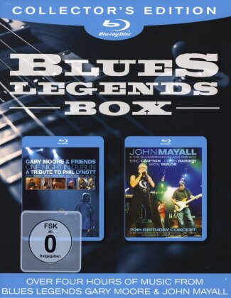 B.B. King & John Mayall - Blues Box (Collector's Edition, 2 Blu-rays)