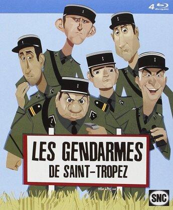 Les Gendarmes de Saint-Tropez (1964) (Remastered, 4 Blu-rays)