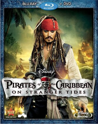 Pirates of the Caribbean 4 - On Stranger Tides (2011) (Blu-ray + DVD)