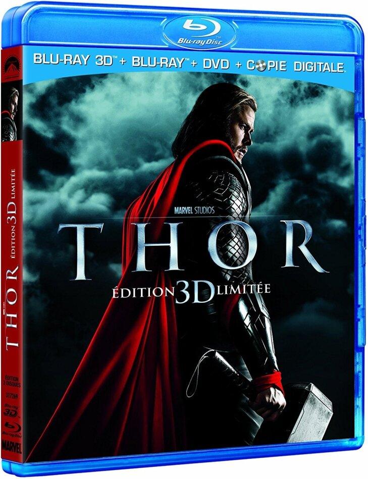 Thor (2011) (Limited Edition, Blu-ray 3D + Blu-ray + DVD)