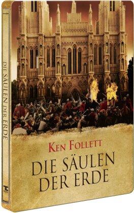 Die Säulen der Erde (Limited Edition, Steelbook, 3 Blu-rays)