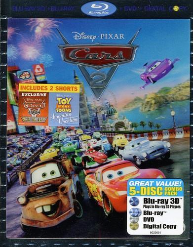 Cars 2 (2011) (Blu-ray 3D + DVD)