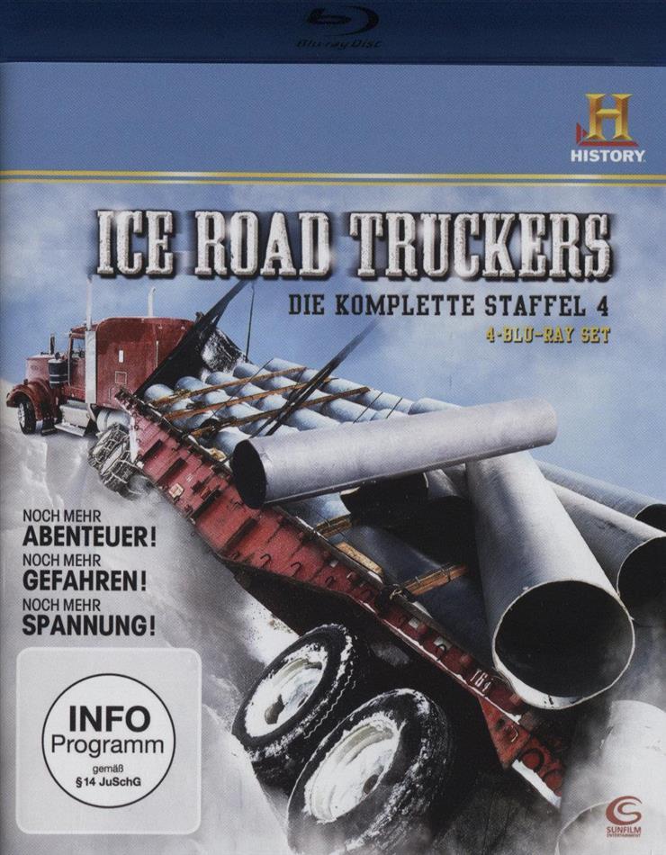 Ice Road Truckers - Staffel 4 (4 Blu-rays)