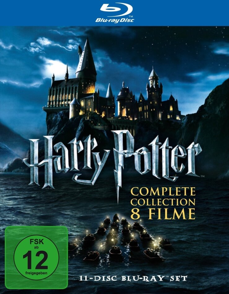 Harry Potter 1 - 7 - Complete Collection (11 Blu-rays)
