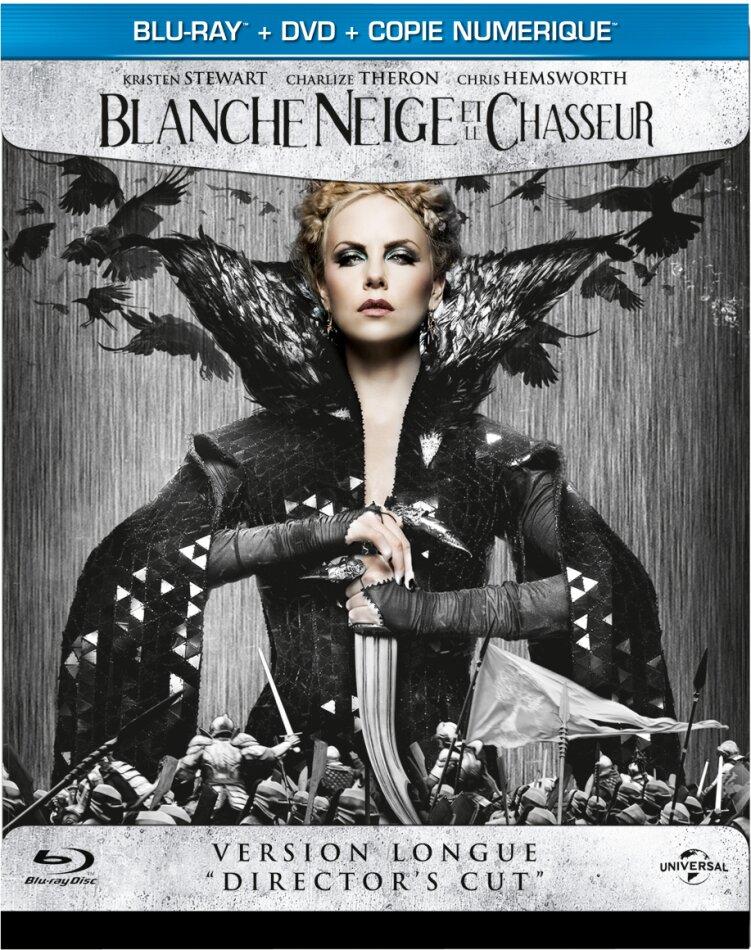 Blanche Neige et le chasseur (2012) (Director's Cut, Steelbook, Blu-ray + DVD)