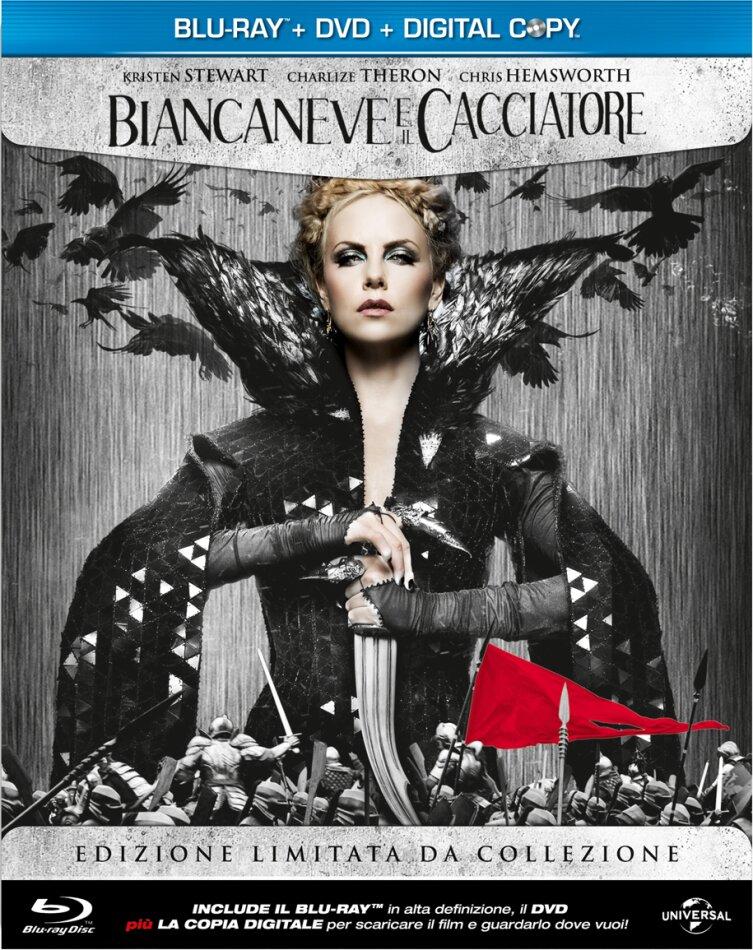 Biancaneve e il cacciatore (2012) (Steelbook, Blu-ray + DVD)