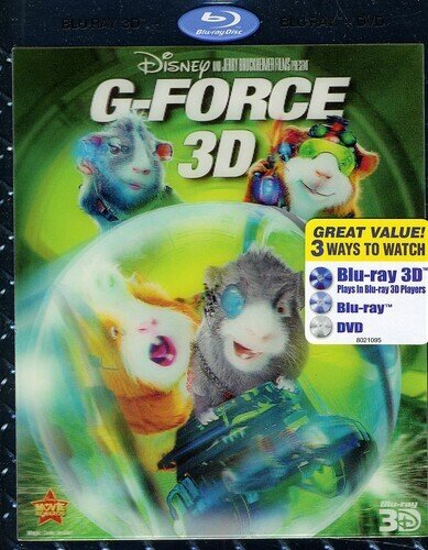 G Force 2009 Blu Ray 3d Dvd Cede Com