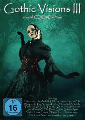 Various Artists - Gothic Visions 3 (DVD + CD)