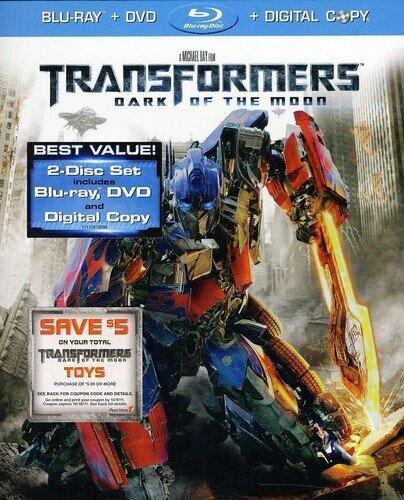 Transformers 3 - Dark of the Moon (2011) (Blu-ray + DVD + Digital Copy)