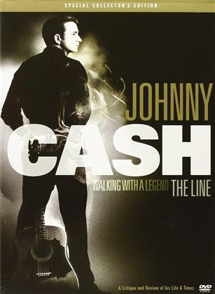 Johnny Cash - The Line - Walking with a Legend (DVD + CD)