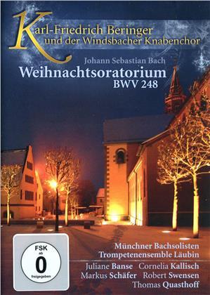 Münchnchner Bachsolisten, Karl-Friedrich Beringer, … - Bach - Weihnachtsoratorium