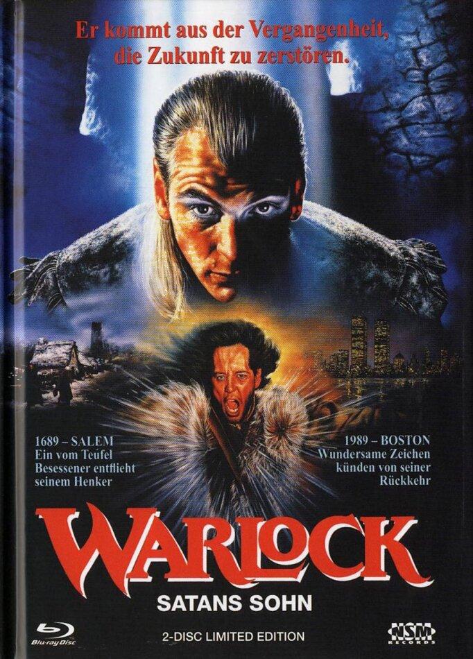 Warlock - Satans Sohn (1989) (Limited Edition, Mediabook, Uncut, Blu-ray + DVD)