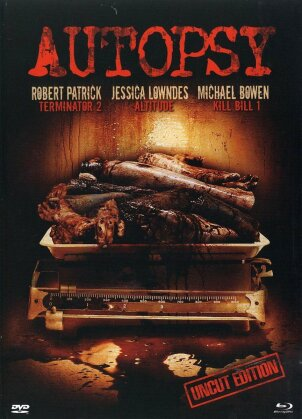 Autopsy (2008) (Limited Edition, Uncut, Blu-ray + DVD)