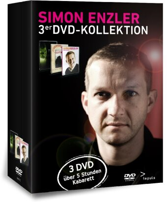 Simon Enzler - DVD Kollektion (3 DVDs)