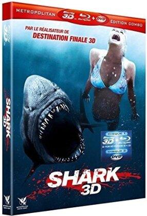 Shark (2011) (Blu-ray 3D (+2D) + Blu-ray + DVD)