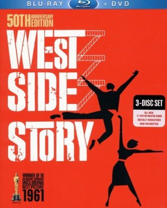 West Side Story (1961) (50th Anniversary Edition, Blu-ray + DVD)