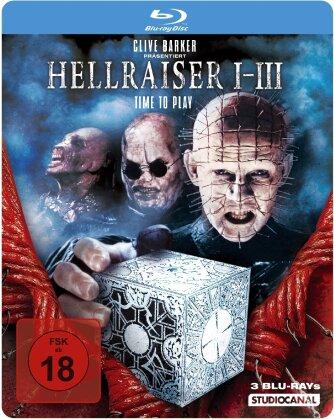 Hellraiser 1-3 (Steelbook, 3 Blu-rays)