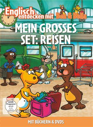 Mein Grosses Set: Reisen - Englisch entdecken mit Ben & Bella (2 DVDs + Buch)