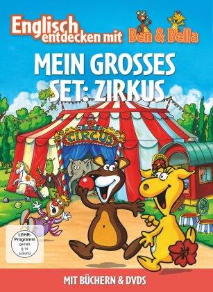 Mein Grosses Set: Zirkus - Englisch entdecken mit Ben & Bella (2 DVDs + Buch)