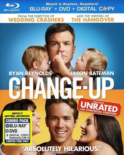 The Change-Up (2011) (Unrated, Blu-ray + DVD)