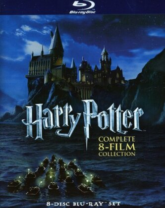 Harry Potter 1 - 7 - Complete Collection (Gift Set, 8 Blu-rays)