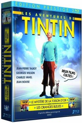 Tintin et les oranges bleues / et le mystère de la toison d'or (2 Blu-ray)