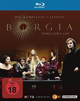 Borgia - Staffel 1 (Director's Cut, 4 Blu-rays)