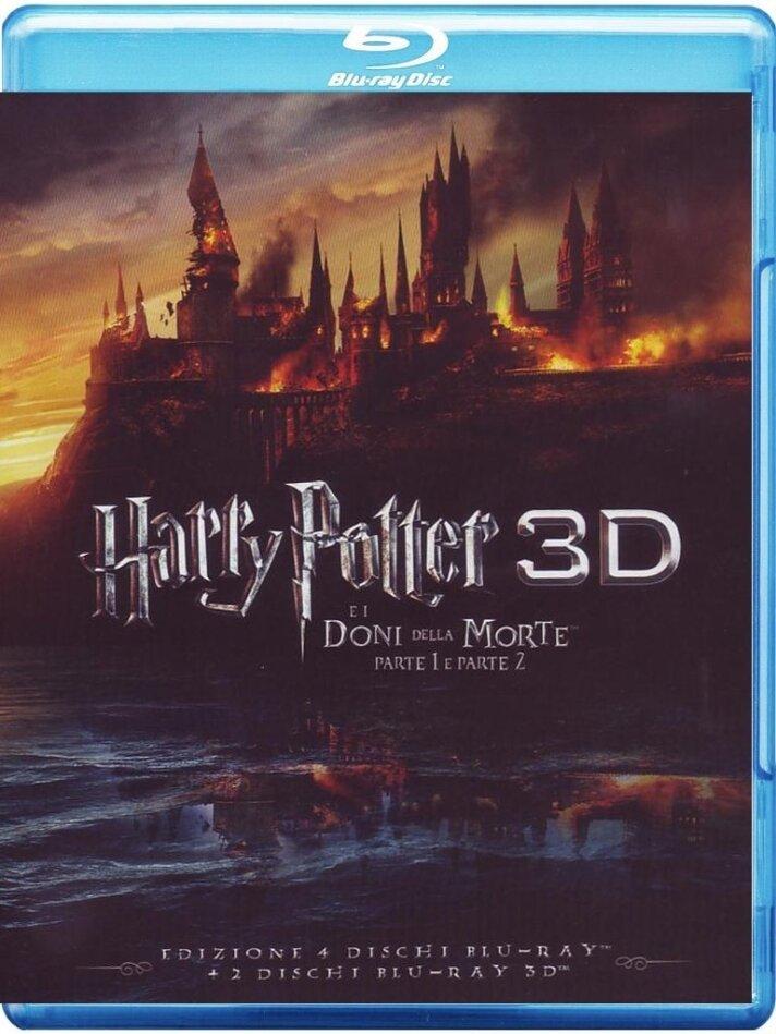 Harry Potter e i doni della morte - Parte 1 & 2 (2 Blu-ray 3D + 4 Blu-rays)