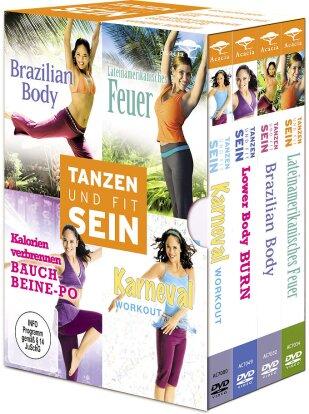 Tanzen und fit sein (Box, Limited Edition, 4 DVDs)