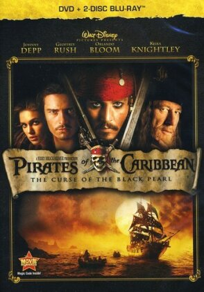Pirates of the Caribbean - The Curse of the Black Pearl (2003) (2 Blu-rays + DVD)