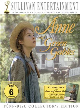 Anne auf Green Gables - Teil 1 - 3 (Édition Collector, 5 DVD)