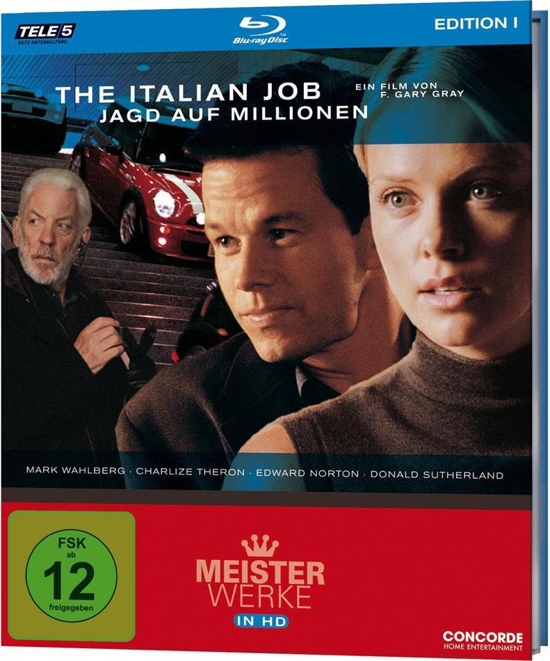 The Italian Job - Jagd auf Millionen (2003) (Meisterwerke Edition)