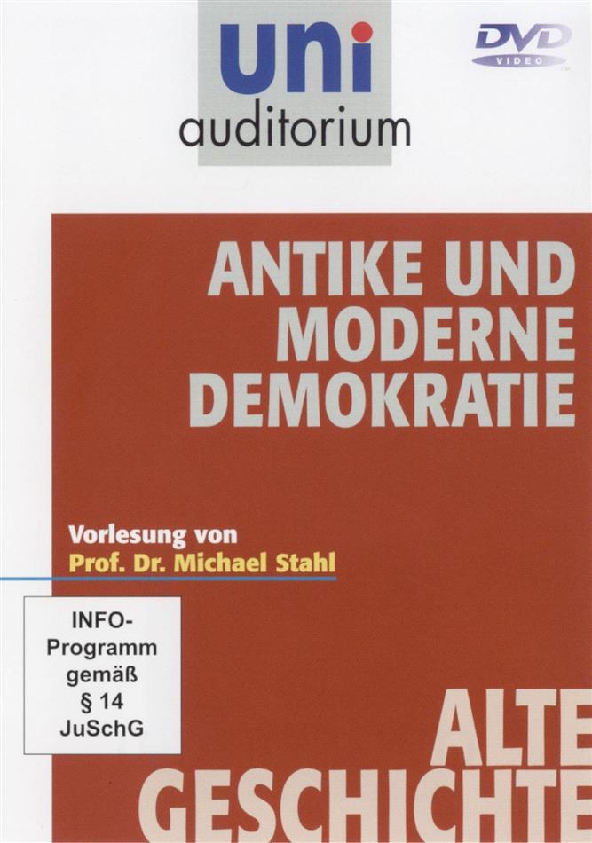 Antike und moderne Demokratie - (uni auditorium)